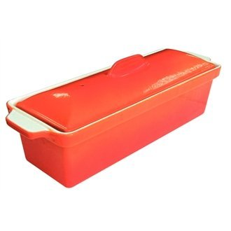 Orange Pate Terrine 1.75 litre. by Nextday Catering Equipment Supplies UK
