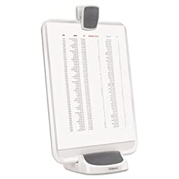 I-Spire Series Document Lift, ABS Plastic, 15 Sheet capacity, White/Gray, Sold as 1 Each