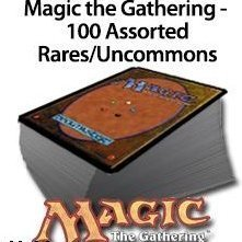 Magic: the Gathering - 100 Rare/Uncommon Cards - 1