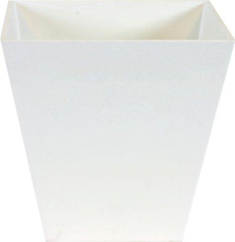 Ivyline Artstone 107836 Pot 20x20cm - Ella White