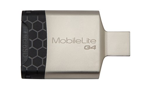 Kingston Digital MobileLite G4 USB 3.0 Multi-Function Card Reader (FCR-MLG4)