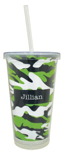 Custom Tumblers With Straw front-1045197