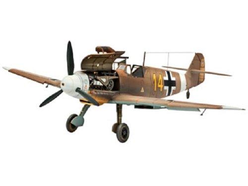 1:48 Scale Messerschmitt Bf109 F-2/4 Rg4656 04656 By Revell