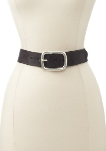 Tommy Hilfiger Women's Vintage Leather Belt, Black, Medium (Belt Tommy Hilfiger Women compare prices)