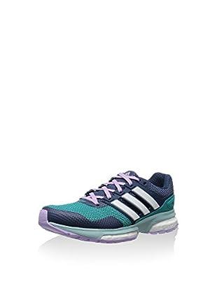 adidas Zapatillas Response 2 (Azul Marino / Verde)