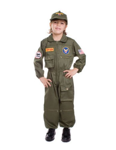 Air Force Pilot Md Kids Boys Costume