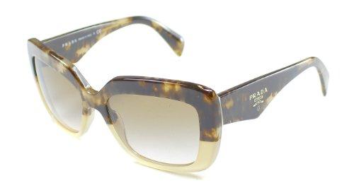 pradaPrada 03QS ROZ0A6 Tortoise and Beige 03QS Handbag Square Sunglasses Lens Catego