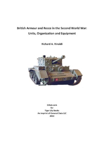 British Armour and Recce in the Second World War