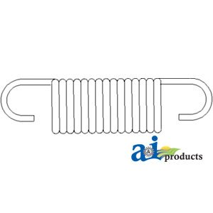 A & I Products Spring, Clutch Pedal Replacement For John Deere Part Number T2...