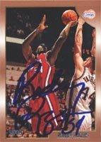 Rodney Rogers Los Angeles Clippers 1999 Topps Autographed Hand Signed Trading Card. by Hall of Fame Memorabilia