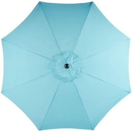 Mosaic 9-Foot Round Steel Market Umbrella