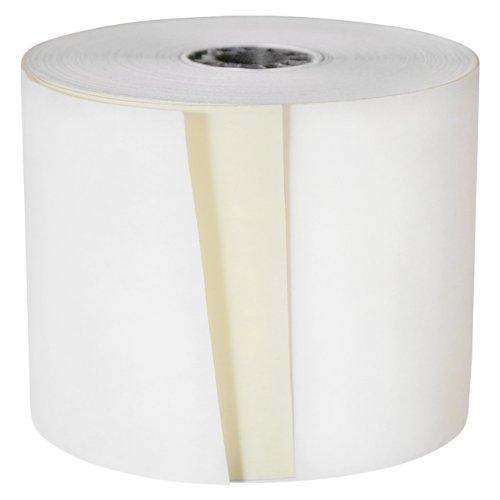 DayMark ACR-2350 Paper Cash Register Tape Roll, 2-Ply, White, 95' Length x 3