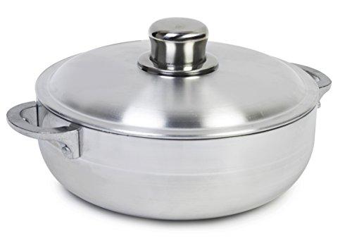 IMUSA USA R200-CALDERO 26 Caldero, 4.4-Quart, Silver (Rice Pot Caldero compare prices)