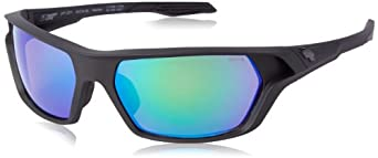 Buy Spy Optics Quanta Ansi Matte Wrap Polarized Sunglasses by Spy