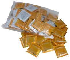100 Premium Condoms Vitalis Ribbed - Ribbed Condoms for those special moments