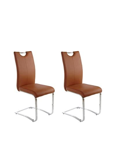 13 Casa Chair set van 2 Valencia D3 Tan