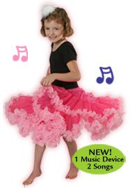 Acting Out Musical Skirt - Hokey Pokey & Can Can Petticoat