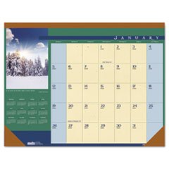 - Landscapes Photographic Monthly Desk Pad Calendar, 22 x 17, 2015 kicute new 2017 2018 calendar a4 leather notebook schedule daily weekly monthly planner agenda organizer diary stationery gift