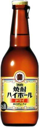 宝 焼酎ハイボール 瓶 <ドライ>  280ML × 12本