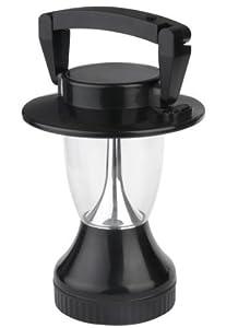 "Solar Wholesale 4002 Solar Camping Lantern. 6V/70 mA Solar Panel. 12 LEDs. Solar and Hand Crank. 8.5"" tall"
