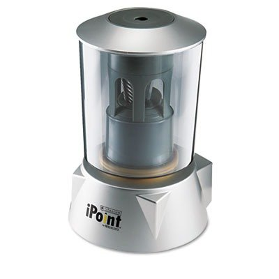 Ipoint 14203 - Ipoint School Desktop Electric Pencil Sharpener, Silver