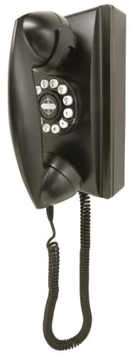 Crosley 302 Wall Phone CR55-Black