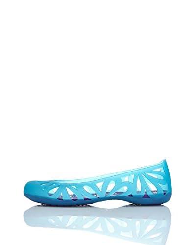 Crocs Ballerina Adrina Iii Flat W [Blu]