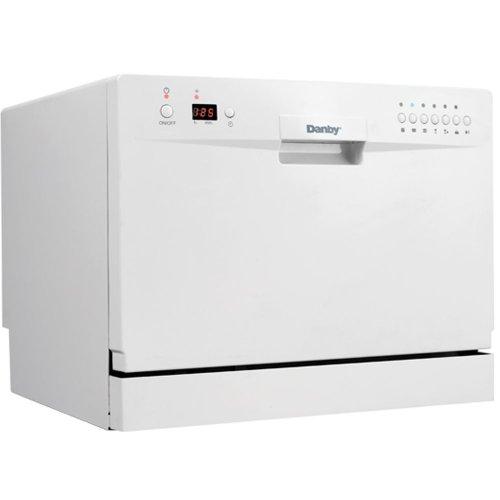Danby DDW611WLED Countertop Dishwasher - White - iece Combo Kit0405