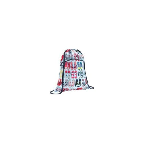 Amazon.com : Thirty One Cinch Sac FUN Flops : Gym Drawstring Bags