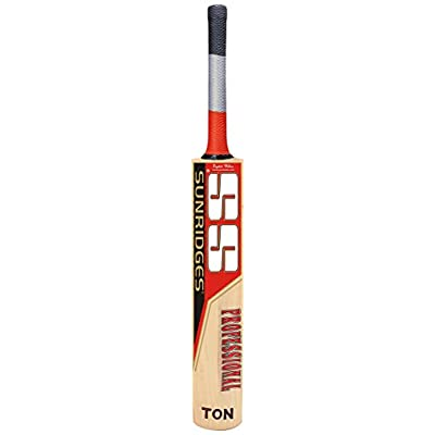 SS Professional English Willow Cricket Bat, Short Handle