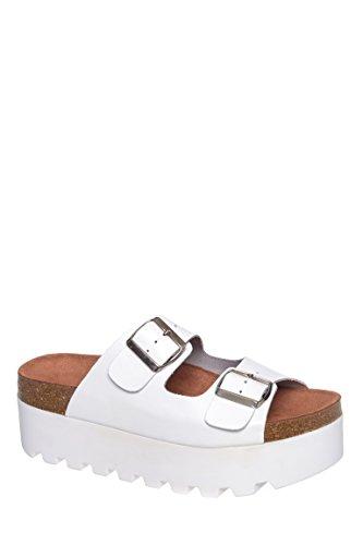Lisa Mid Platform Flat Sandal
