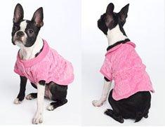 Juicy Couture Velour Dog Dress Medium Pink