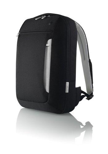 "Belkin Slim 15.4"" Notebook Polyester Backpack, Black/Light Gray"