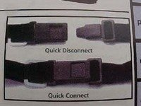 Helmet Chin Strap Quick Release By Fast Hook by Fast Hook