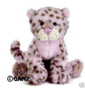 Webkinz Exclusive Plush Stuffed Animal Strawberry Cloud Leopard