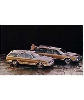 1981 Pontiac Safari Wagon Post Card Sales Piece Advertisement Mailer Flyer