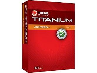 Trend Micro Titanium Antivirus+ 2012 1 User