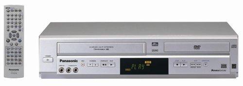 NEW Panasonic PV-D4734S DVD VCR Progressive Scan Player ...