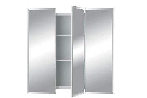 Jensen 255048 Horizon Frameless Medicine Cabinet, Tri-View