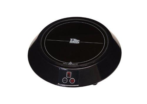 MaxiMatic EIND-88B Elite Platinum Induction Cooker, Mini, Black