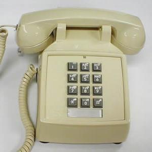 Cortelco 250044-VBA-25M Desk Phone with Volume Control