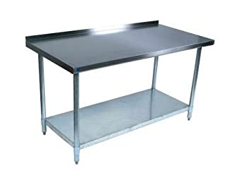 60 w x 30 d stainless steel work table w