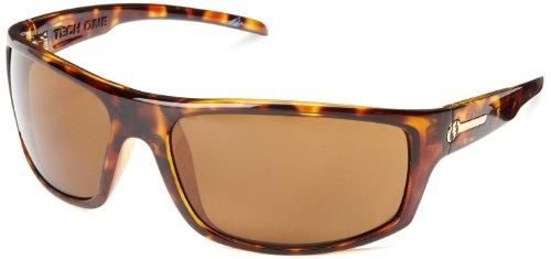 Electric Visual Tech One M1 Es11610643 Polarized Rectangular Sunglasses,Tortoise Shell,66 Mm