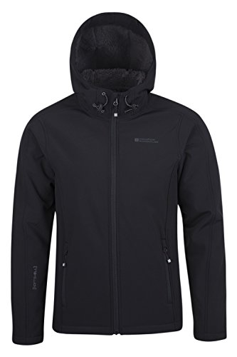 mountain-warehouse-arctic-mens-softshell-jacket-breathable-lightweight-showerproof-black-medium
