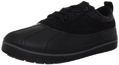 crocs Men's Allcast Duck Shoe,Black/Black,8 M US