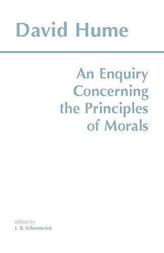 An Enquiry Concerning the Principles of Morals (Hackett...