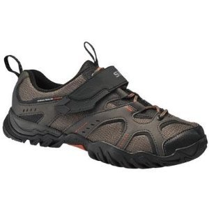 Shimano SH-WM43 Mountain Bike Shoes – Women's, Brown, 42