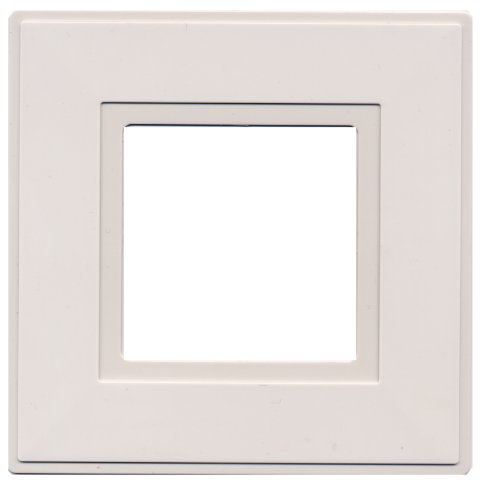 kenable Light Switch Surround Finger Plate White [2 Pack]