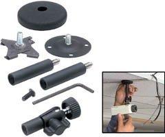 Panavise 845-246 CCTV Micro Deluxe 2-4-6-Inch Rise - Adjustable Knob and Screw Set (Black)