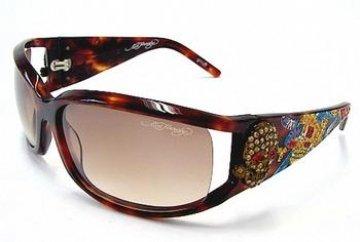 Ed Hardy Ehs035 Color Tortoise Sunglasses
